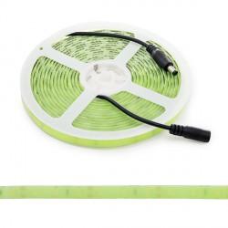 "Tira de LEDs ""Fluo"" 12VDC SMD5630 60LEDs-14W/M IP65 5M Verde"