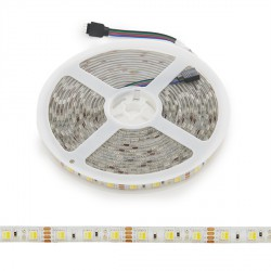 LED Strip 12VDC SMD5050 60LEDs 72W Warm/Cool IP65 5M