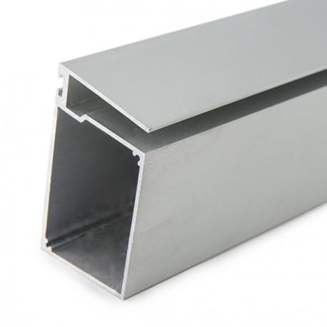 Mensole Di Vetro Con Led.Profilo Led In Alluminio Per Mensole Di Vetro Spesso 8mm Con Driver Housing 2 Metri Strip