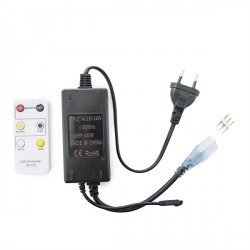 Plug/Controller for Cool/Warm White LED Strips 230VAC