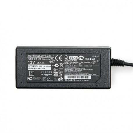Transformador LEDs 60W 230VAC/12VDC Interior IP25