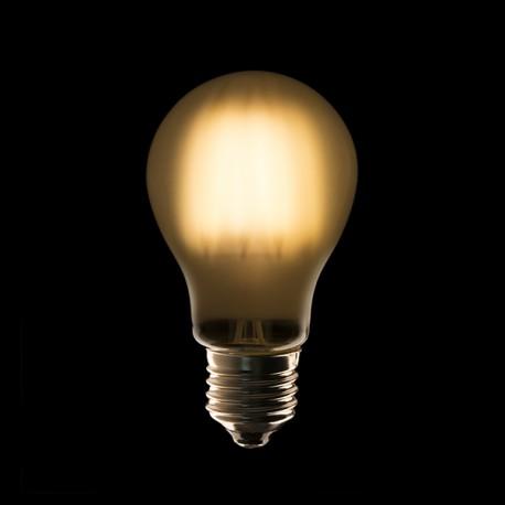 Lampe Ampoule Filament A60 Led E27 6w 660lm Opal 40 000h