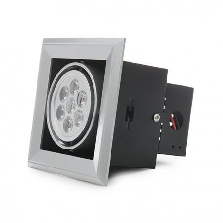 Foco Downlight de LEDs Rectangular 7x1W