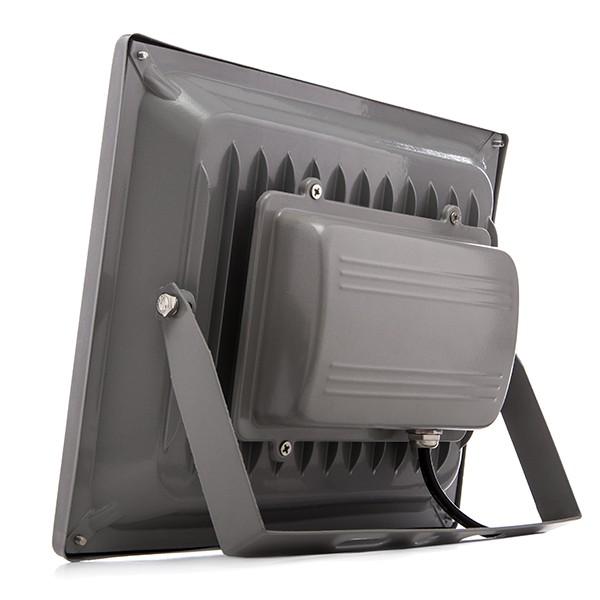 Foco proyector de leds para exterior brico 50w 4250lm 30 for Focos de led para exterior