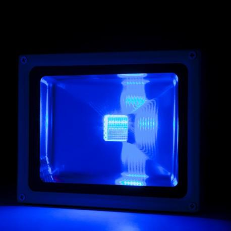 Foco Proyector de LEDs para Exterior 20W RGB con Mando Distancia