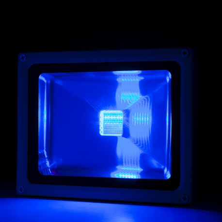Foco Proyector de LEDs para Exterior 30W RGB con Mando Distancia