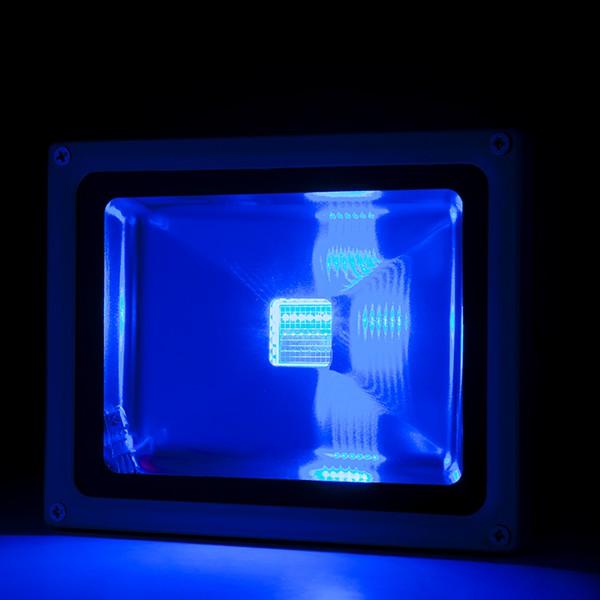 Foco proyector de leds para exterior 30w rgb con mando for Focos de led para exterior