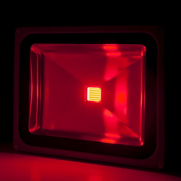 Foco proyector de leds para exterior 50w rgb con mando for Focos de led para exterior