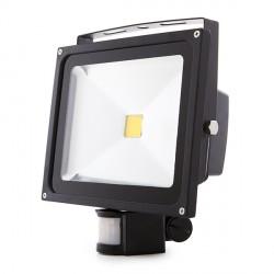 Proyector de LEDs para Exterior con Detector Movimiento 30W 2700Lm 30.000H