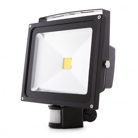 LED Floodlight IP65 Movement Detector 30W 2700Lm 30.000H