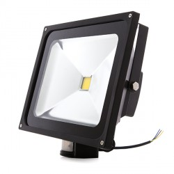 Outdoor LED Floodlight with Motion Sensor 50W 4250Lm 30.000H