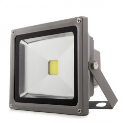 LED Outdoor Floodlight 20W 1450lm 12-24VDC