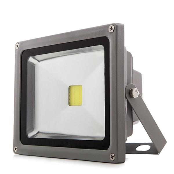 Foco proyector de leds para exterior 20w 1450lm 12 24vdc for Focos de led para exterior