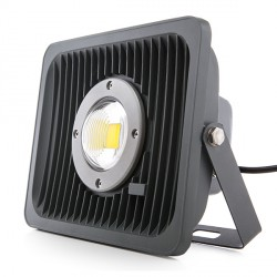 Outdoor LED Floodlight Reduced Beam Angle 50W 4000Lm 30.000H