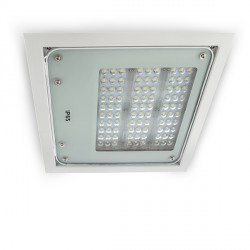 Recessed Outdoor LED Floodlight 80W 8000lm 50,000H Special Canopies