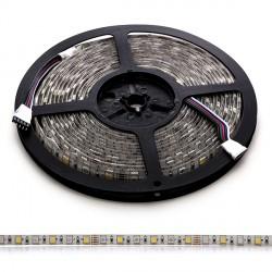 Tira de 360 LEDs SMD 5050 5M RGB-Blanco Cálido IP65 Exterior
