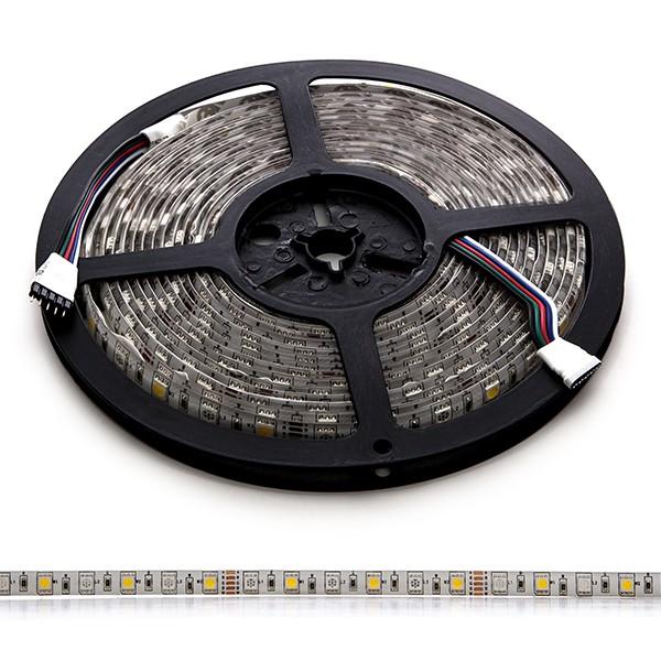 Tira de 360 leds smd 5050 5m rgb blanco c lido ip65 exterior - Tiras de led para exterior ...
