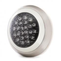 Foco de Piscina de LEDs Montaje Superficie Ø300mm 24W Luz: Blanco Natural
