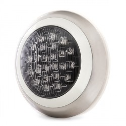 Foco de Piscina de LEDs Montaje Superficie Ø300mm 24W Luz: Blanco Natural