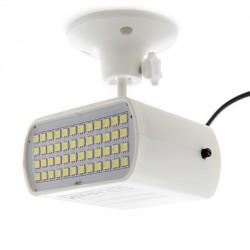 Mini  LED Strobe White Light Blanca 10W 48 x SMD5050