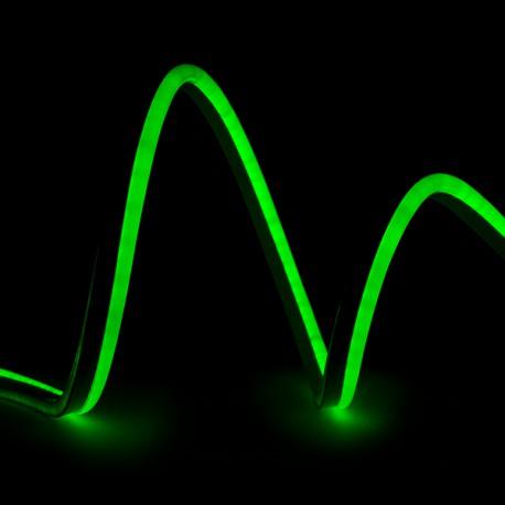 Led del tubo flessibile neon flex 80 leds m 8w m 24vdc ip66 for Tubo flessibile a led