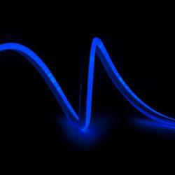Manguera de LEDs Neon Flex 80 LEDs/M 4,5W/M 24VDC IP66 Azul