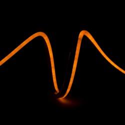 Manguera de LEDs Neon Flex 80 LEDs/M 4,5W/M 24VDC IP66 Amarillo
