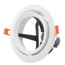 Foco de Empotrar para Lámparas PAR 30 E27 (sin Lámpara) Color Blanco