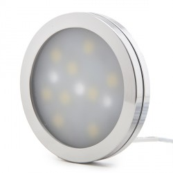 Mini LED Surface Mounted Fitting for Furniture   2W 200Lm 30.000H Cable 2M