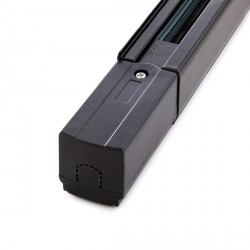 3-Phase Rail for Tracklights 1M Black