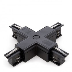 """""""+"""" Connector for 3-Phase Rail Silver Colour"""