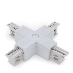 """+"" Connector for 3-Phase Rail White"