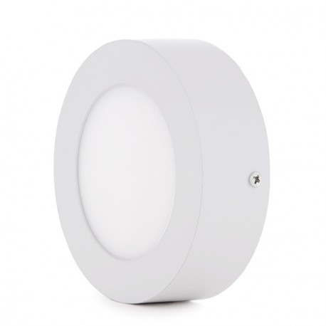Circular Surface Mounted LED Ceiling Lamp Ø120mm 6W 470Lm 30.000H