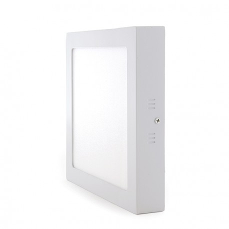 Square Surface Mounted LED Ceiling Lamp 225mm 18W 932Lm 30.000H