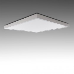 Square Surface Mounted LED Ceiling Lamp 600x600mm 48W 3600Lm 30.000H