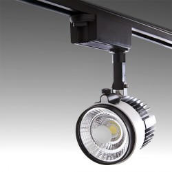 LED Tracklight for 2-Phase Rail COB 30W 2700Lm 30.000H