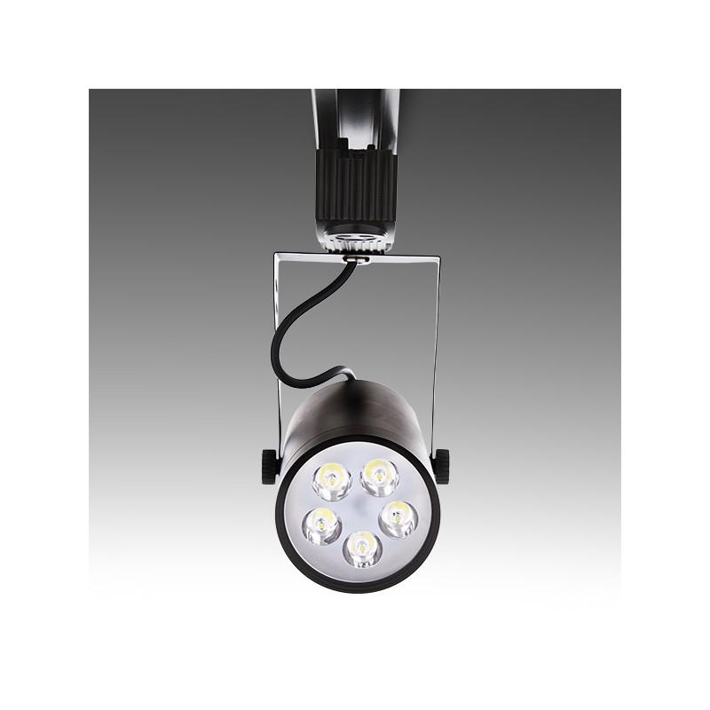 Foco de LEDs para Carril 5W 500Lm 30.000H (1)