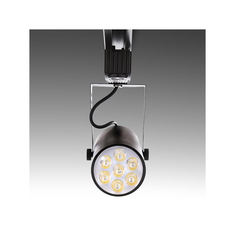 Foco de LEDs para Carril 7W 700Lm 30.000H (1)