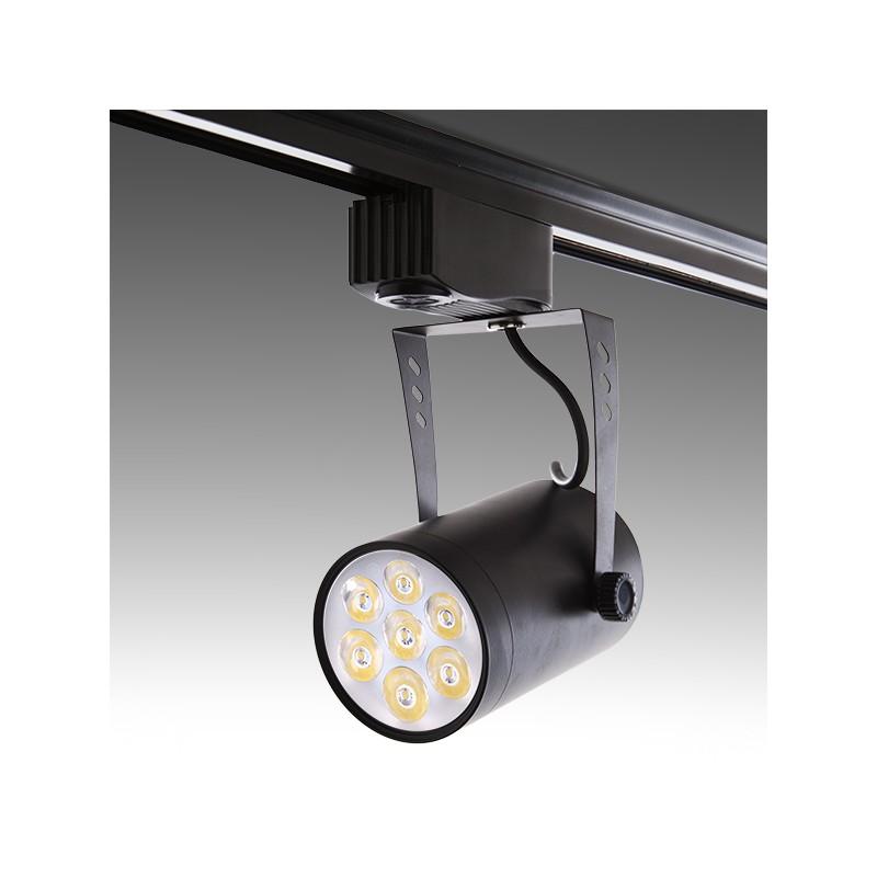 Foco de LEDs para Carril 7W 700Lm 30.000H