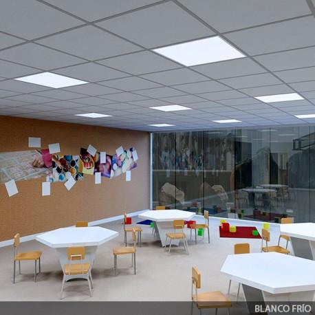 ECOLINE LED Panel 595x595x12mm White Frame 36W 2089Lm 30.000H