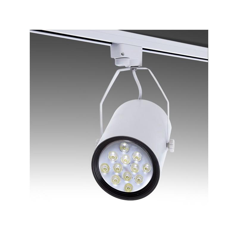 Foco de LEDs para Carril 12W 1200Lm 30.000H