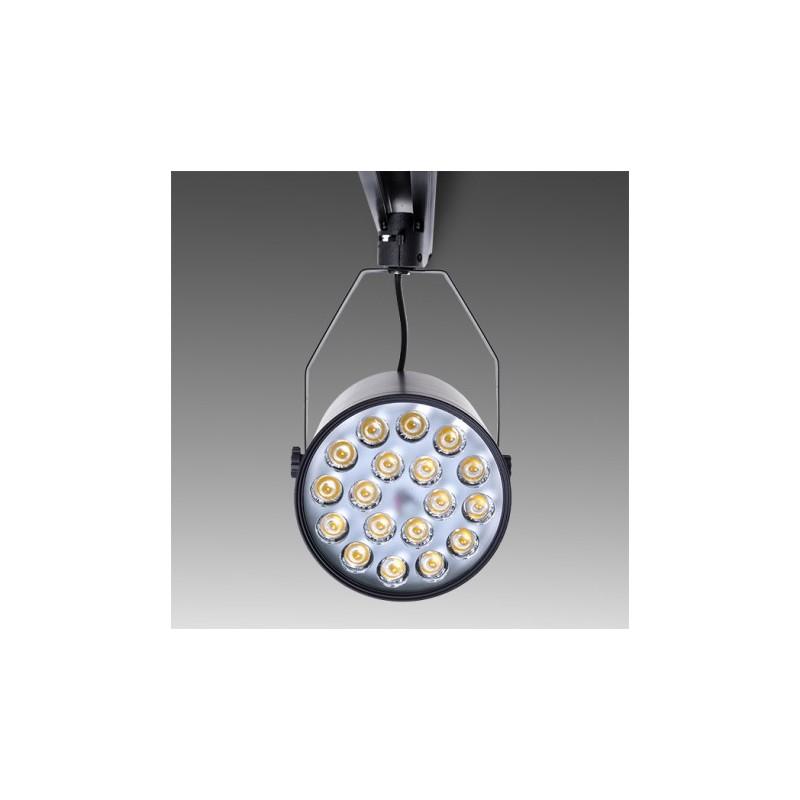 Foco de LEDs para Carril 18W 1800Lm 30.000H (1)