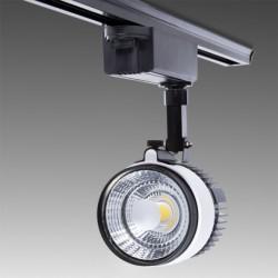 Foco de LEDs para Carril COB 20W 1800Lm 30.000H