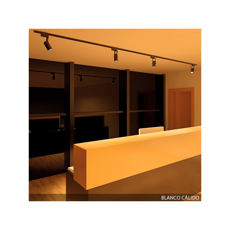 Foco de LEDs para Carril 7W 700Lm 30.000H (5)