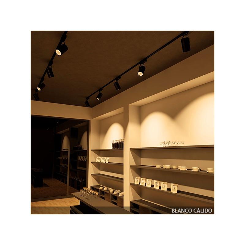 Foco de LEDs para Carril 20W 2000Lm 30.000H (5)