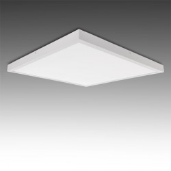 Square Surface Mounted LED Ceiling Lamp 600x600mm 36W 2700Lm 30.000H
