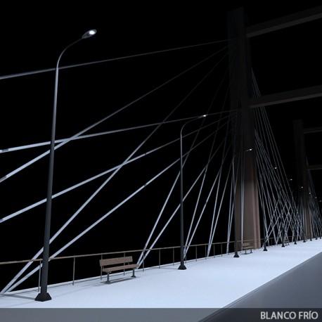 Farola de LEDs para Alumbrado Público 50W 4320Lm 50.000H