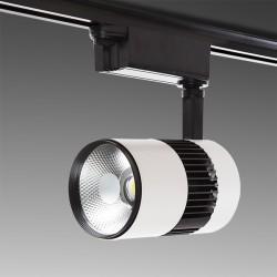 Foco de LEDs para Carril 20W 2000Lm 30.000H