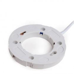Portalámparas Cerámico GX53 Cable 300mm 180ºC