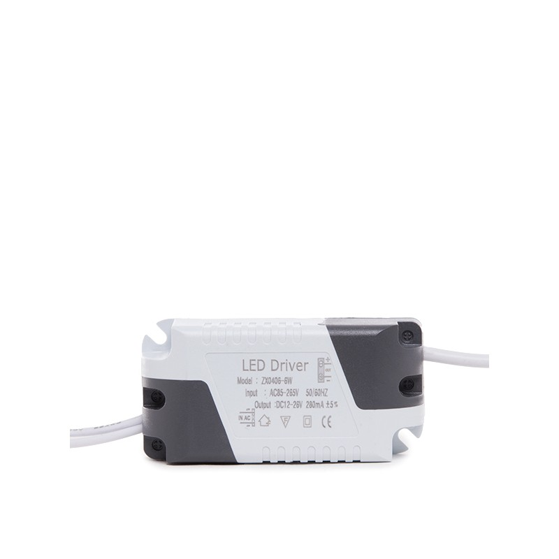Placa de LEDs Circular ECOLINE 120mm 6W 400Lm 30.000H (4)
